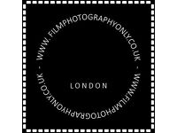 FILMPHOTOGRAPHYONLY.RENT FILM PHOTOGRAPHY CAMERAS.HASSELBLAD 503CW,FLEXBODY.NIKON F5.LONDON
