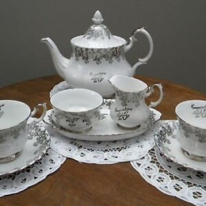 25th Anniversary Set Royal Albert China