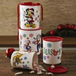 Tupperware - Disney Festive Friends Set of 5 Containers