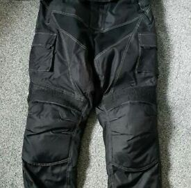 Motorbike Trousers As New