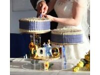 Wedding Cake stand, 3 tier