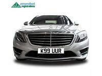 Kaur Number Plate, Kaur Registration, Asian Number Plate, Sikh Number Plate, Cherished Reg