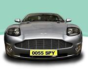 Aston Martin Number Plate