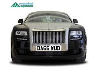 Dawud Number Plate, Dawood Registration, Asian Number Plate, Muslim number Plate, Cherished Reg
