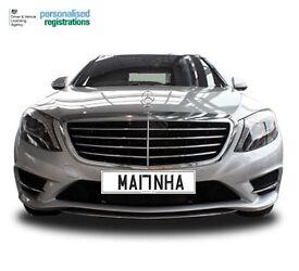 CHERISHED NUMBER PLATE - MA17 NHA PERSONALISED MUSLIM REGISTRATION/ MANHA MANNHA MANHAA