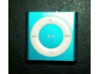 Ipod shuffle blue
