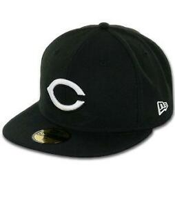 Cincinnati Reds Hat Black