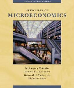 Principles microeconomics 2nd, Mankiw, Kneebone, McKenzie, Rowe