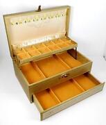 Large Vintage Jewelry Box