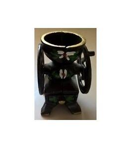 Vintage Cast Iron Miniature Coffee Mill / Grinder