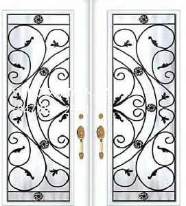 Entry Front Door Double System  Custom Size