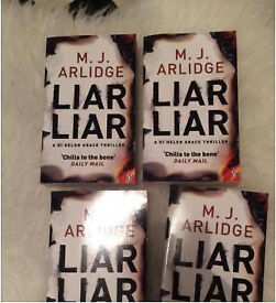 NEW Liar Liar Book (DI Helen Grace Thriller) by M. J. Arlidgre. Stocking Fillers. 3 Available