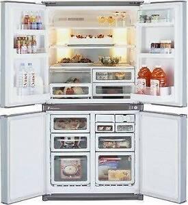 RRP$2800 As new Sharp 602 liter French door fridge,Can deliver Parramatta Parramatta Area Preview