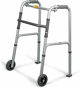 NEW&USED Light Rehab Aluminum Folding Walker & Rollator Walkers.
