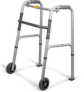 NEW & USED - Rehab Aluminum Folding Walker & Rollator Walkers