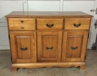 Beautiful Solid Wood Sideboard / Buffet ~L@@K~