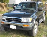 1996 Toyota 4Runner Limited TRADE for 4x4 Pickup Truck