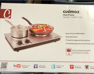 Cusimax Dual Electric Hot Plate