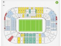 Scotland VS Wales RBS 6 Nations (Platinum-great action seats)