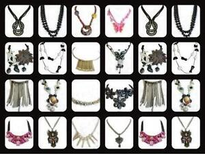 Lot 250 Women's fashion Necklaces and Earrings sets $1 each!