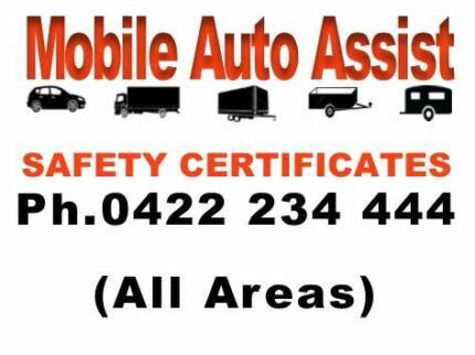Mobile Safety Certificates (RWC) Ipswich City Preview