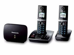 BRAND NEW: Panasonic KX-TG8032 DECT Twin Cordless Phone +Repeater Abbotsford Yarra Area Preview