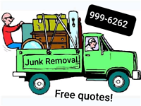 Junk removal, waste hauling and cleaning service