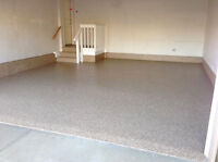 Garage Floor Coating Installation