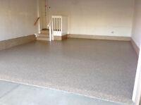 Garage Floor Coating Installation