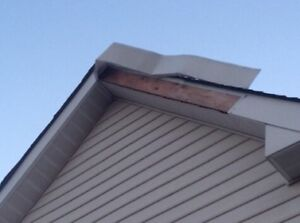 Wind Damage? Fascia Repair - Siding - Soffit - Gutters