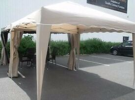 BRAND NEW AND BOXED POP UP GAZEBOS 3M X 3M POP UP GAZEBO EASY TO ERECT