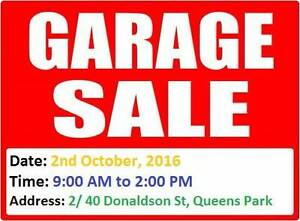 Garage Sale in Queens Park 2nd Oct, 2016 (9 AM - 2 PM) Queens Park Canning Area Preview