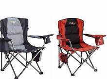 Oztrail Big Boy Folding Picnic and Camping Chairs (2) Lowood Somerset Area Preview