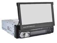 Car Stereo / Bluetooth/MP3/Mp5/ Usb Player Head Unit 7Inch Screen GPS Sat Nav Inc 2017 igo Maps