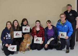 Pet first aid course for all pet owners.