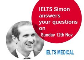 LAST IELTS SIMON WRITING AND READING WORKSHOP OF 2017 – SUNDAY 12TH NOVEMBER - CALL 02076376722