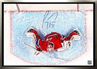 MONTREAL CANDIENS - CAREY PRICE - SIGNED CANVAS