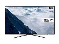 "Samsung UE49KU6400 49 ""Smart 4k Ultra HD TV Silver"