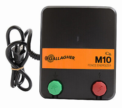 Electric Fence Charger M10 0.1 Joules 110-volt