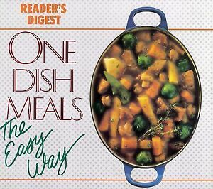 Reader's Digest Cookbook-The Easy Way -ONE dish meals!