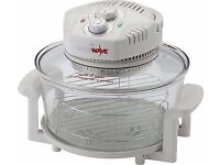 JML V0878 Halowave Halogen Oven -White-1400W Fully working and in excellent condition