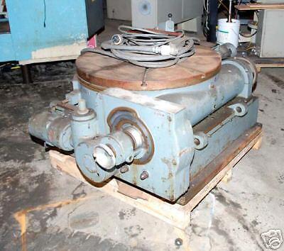 Pratt Whitney 36 Tilting Rotary Table Inv.16738