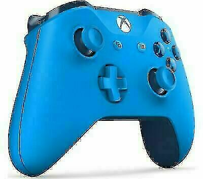 MICROSOFT Xbox One Wireless Controller - Blue - Currys 1pc