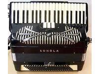 Ernie Felice SS Sonola double cassotto Pro Jazz Accordion