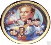 Franklin Mint Star Trek Plate