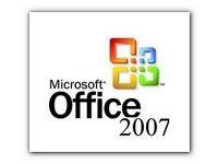 Microsoft Office 2007 Disk