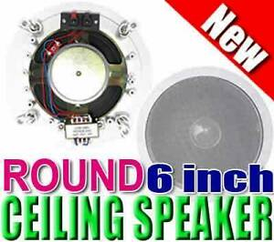 CEILING SPEAKERS 500W (new) Wentworthville Parramatta Area Preview