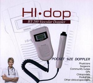 Vascular Doppler complete with 8 MHz probe - BRAND NEW