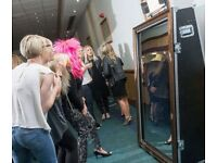 "Full length selfie mirror The Magic Photo Mirror is the latest ""to have"" at weddings, parties"
