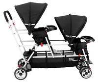 Joovy Big Caboose Stand and Sit Stroller